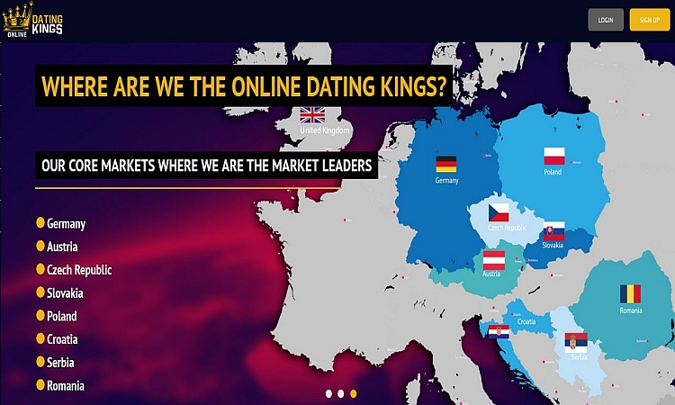 Партнерка датинга от прямого рекламодателя ONLINE DATING KINGS